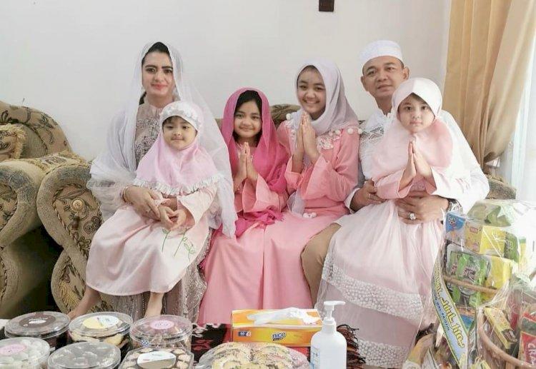Idul Fitri 1441 H, Kapolres Sumba Timur Salad Id di Rumah Bersama Keluarga