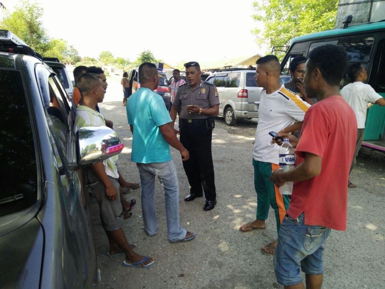 Cegah Aksi Kejahatan, Satbinmas Polres Sumba Timur Laksanakan Patroli Dialogis