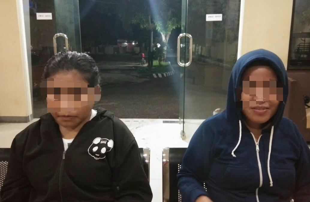 Mencuri Handphone dan Pakaian,  2 Remaja Perempuan Diamankan Bhabinkamtibmas Kambajawa
