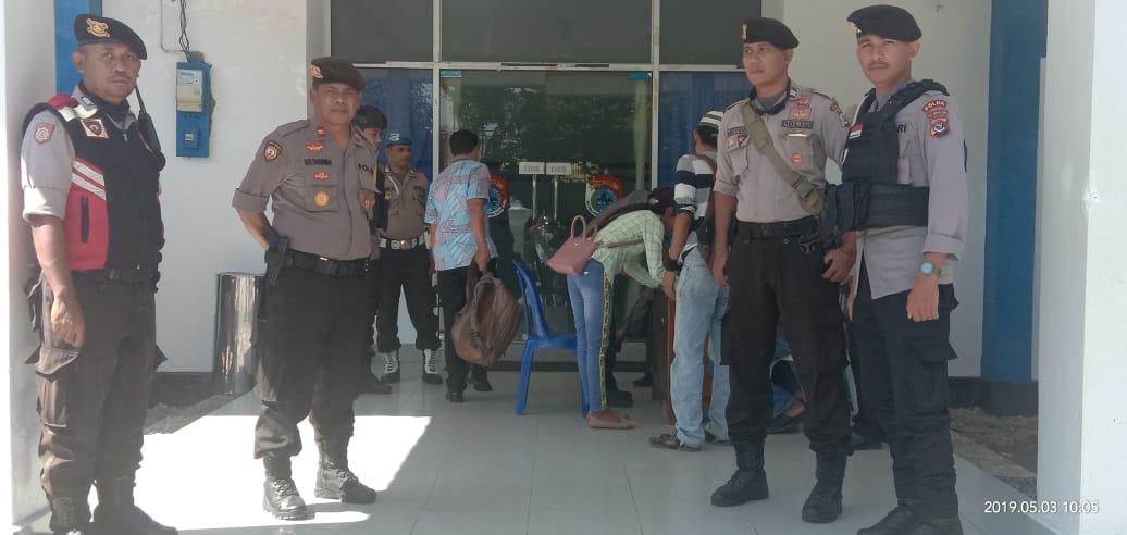 Rapat Pleno Tingkat Kabupaten, Polres Sumba Timur Perketat Pengamanan