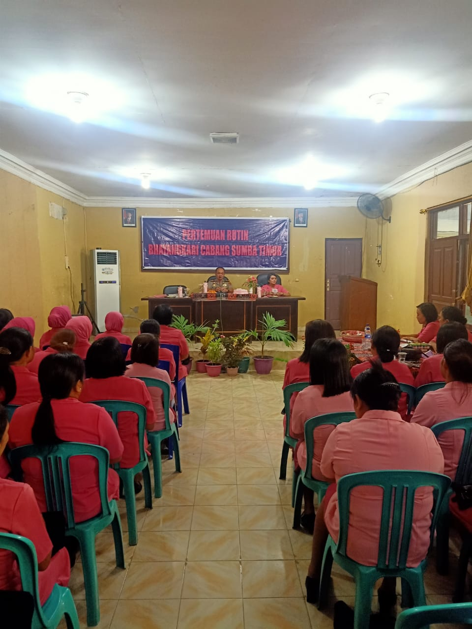 Pesan Kapolres Sumba Timur Kepada Bhayangakari : Jaga Harkat dan Martabat Suami