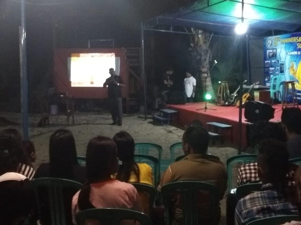 Satnarkoba Polres Sumba Timur Sosialisasi Bahaya Narkoba ke Komunitas SFC Sumba Timur